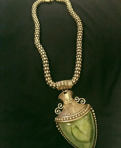Green-Royale Neck Piece